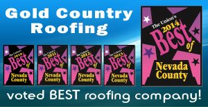 "Voted ""Best Roofer"" for 5 years!"